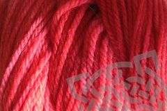 Strawberry Red Hand Dyed Merino Yarn DK / Sport Weight - product images  of
