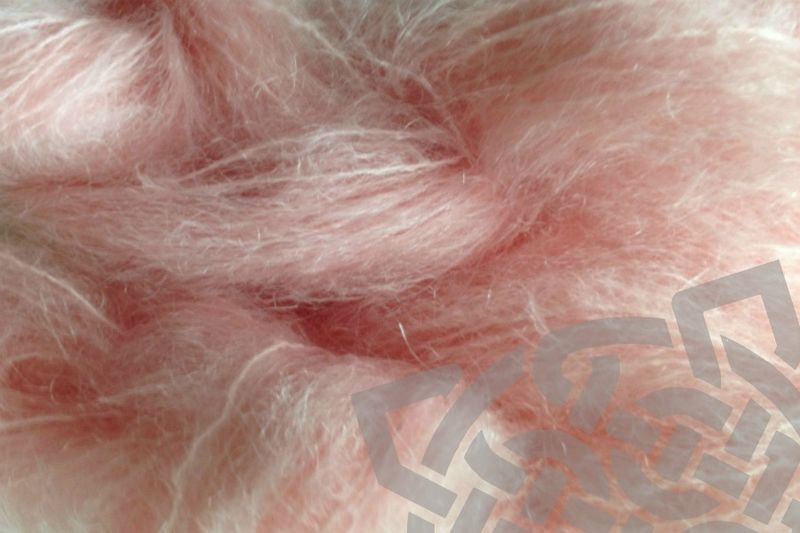 Girlie Pink 4oz (116g) Mohair Yarn Fingering Weight - product images  of