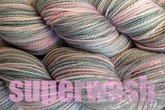 Girlie,Girl,Hand,Dyed,Fingering,Weight,Yarn,Merino Wool Yarn, Hand Dyed Yarn, Pink Gray, Fingering Weight Yarn,  Super Wash Yarn, eweandmeyarns.com