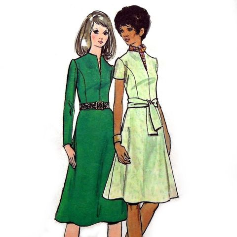 Tailored,Dress,w,Princess,Bodice,1960s,Pattern.,Aline,Skirt.,Dressy.,sewinghappyplace, Sewing Pattern, Vintage