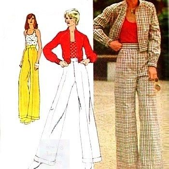 Casual,Jacket,Pants,1970s,Pattern,Halter,Top,Weekender,Separates,sewinghappyplace, Sewing Pattern, Vintage