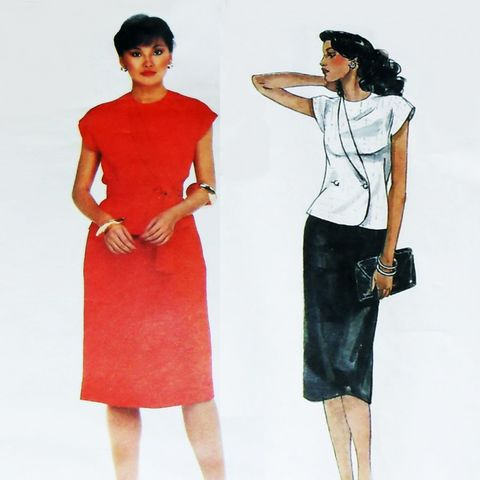 Top,Skirt,1970s,Pattern.,Designer,Bill,Haire.,Cute,Sleeveless,Jacket.,sewinghappyplace, Sewing Pattern, Vintage