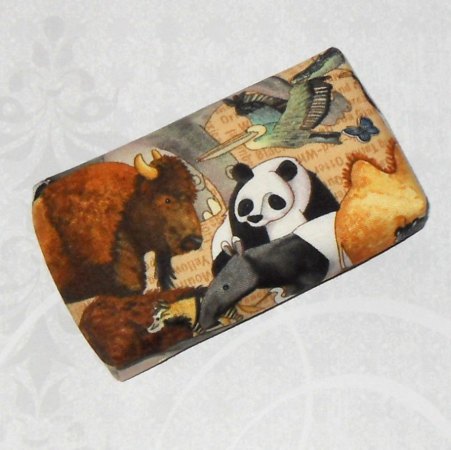 Animal Parade Boxy Pocket Purse Tissue Case. Ecofriendly. Travel Tissue Cozy. Fits Purse Pack. - product images  of