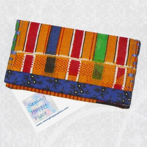 Kente.,Fabric,Gift,Card,Wallet.,Business,Holder.,Mini,Ethnic,Print.,sewinghappyplace, Fabric, Gift Card, Wallet, Business Card Holder, Mini Wallet, purse tea cozy, sweetener purse pack, shpf