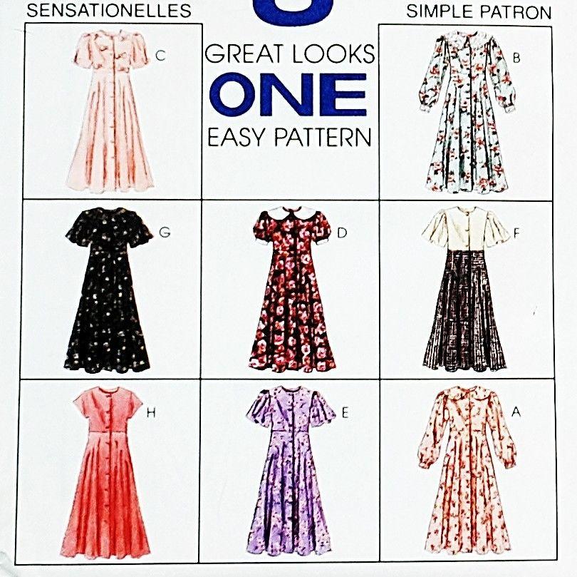 Empire Waist Dresses Patterns