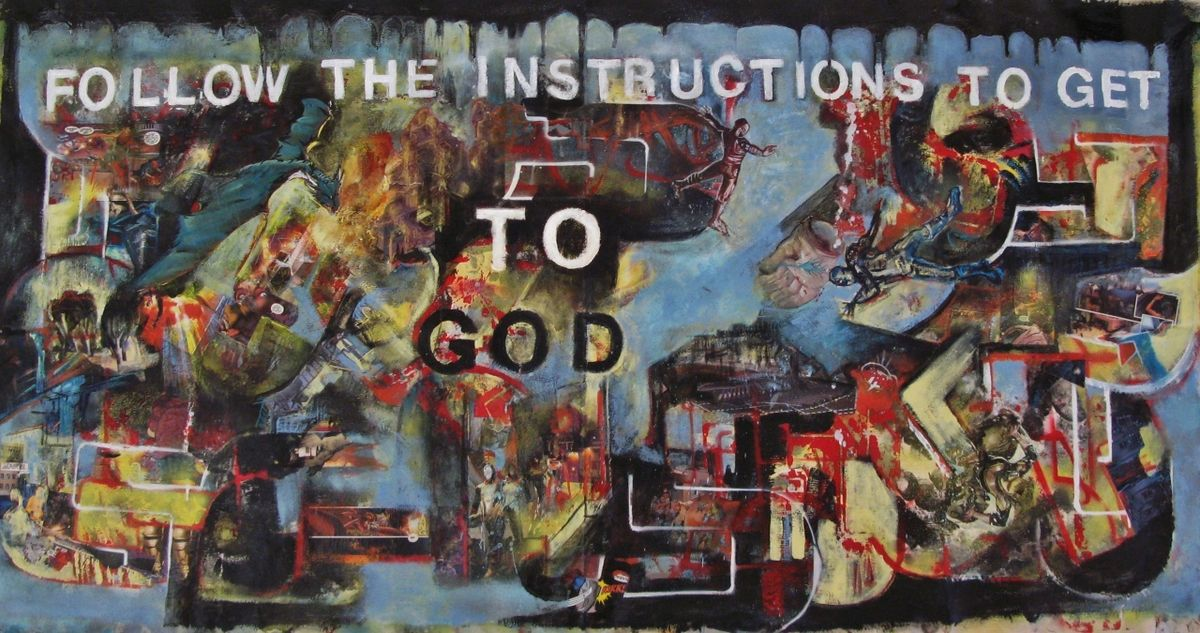 FOLLOW THE INSTRUCTIONS TO GOD - product image