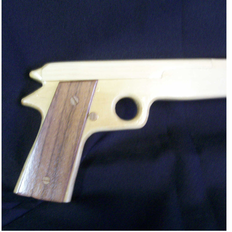 Handgun shaped walking cane semi automatic pistol - product images  of