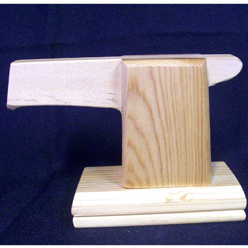 Toy sander, realistic wooden tool  - product images  of