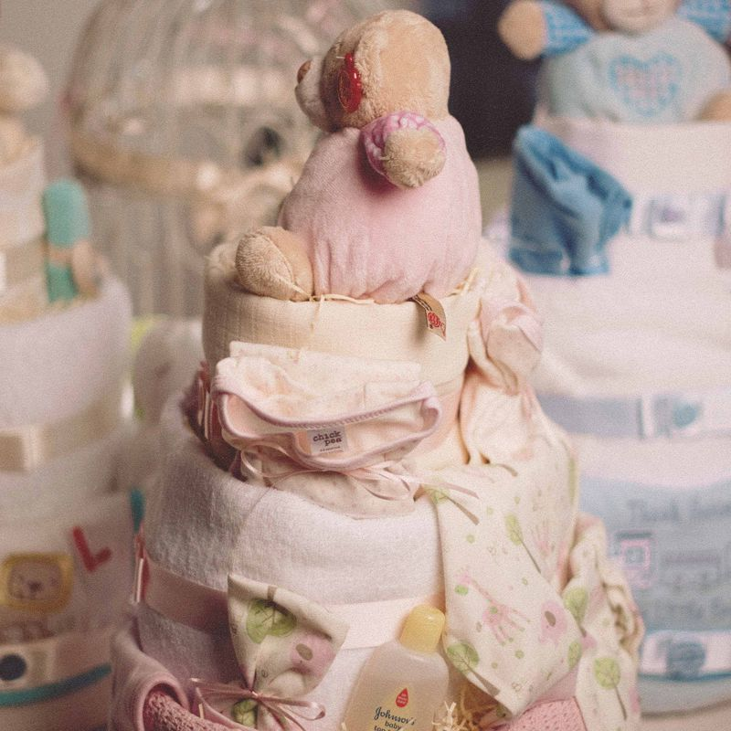 3 Tier Nappy Cake - product images  of