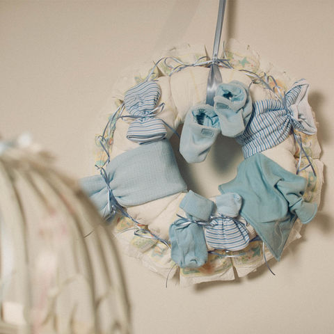 Nappy,Ring,gifts for twins, diaper wreath(uk), nappy wreath, baby ring