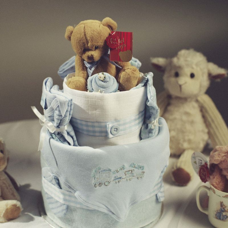 2 Tier Nappy Cake - product images  of