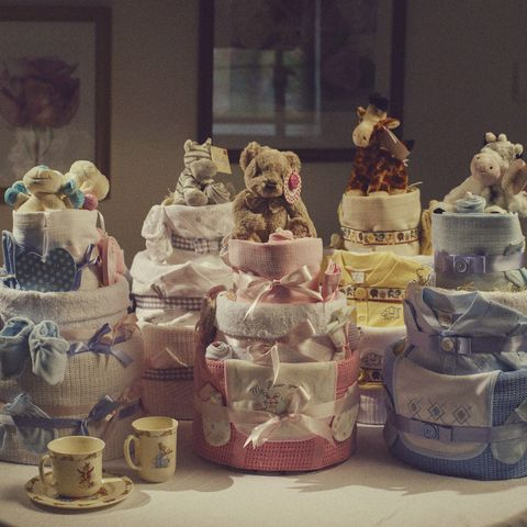 3,Tier,Nappy,Cake,nappy cakes, nappy tower, baby cake, baby bundle, nappy cakes uk