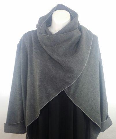 Gray Fleece Wrap - Crylittle Designs 1b9bfaf1661b