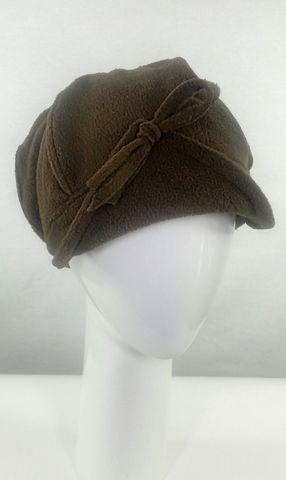 Brown Fleece Hat - Crylittle Designs 2e2c01385e82