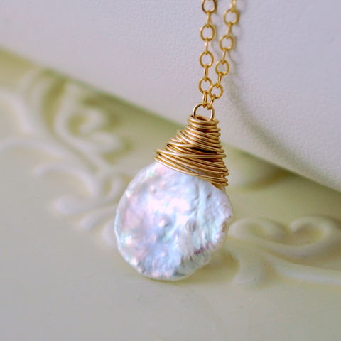 Keishi,Pearl,Necklace,Wrapped,in,Gold,Jewelry,Wire_Wrapped,keishi_pearl,keshi_pearl_necklace,keshi_pearl,pearl_necklace,keishi_pearl_jewelry,keishi_jewelry,freshwater_pearl,gold_filled,gold,rainbow_moonstone,simple,white,white_keishi_pearl,gold_fill