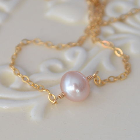Pink,Pearl,Choker,Necklace,Gold,Jewelry,pink_pearl_necklace,pink_pearl_jewelry,pink_pearl_choker,choker_necklace,gold_filled,freshwater_pearl,pearl_necklace,pink,pearl_jewelry,under_25,jewellery,simple,gold_jewellery