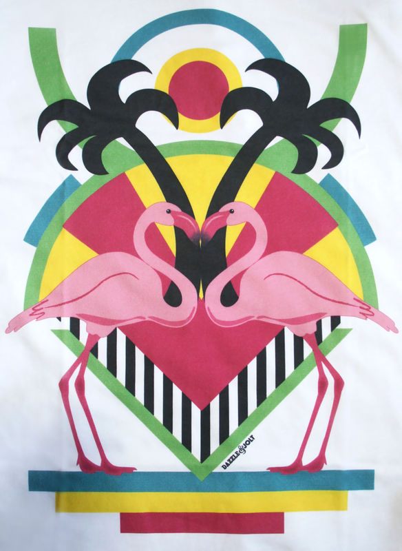 Flamingo Love T-Shirt - product images  of