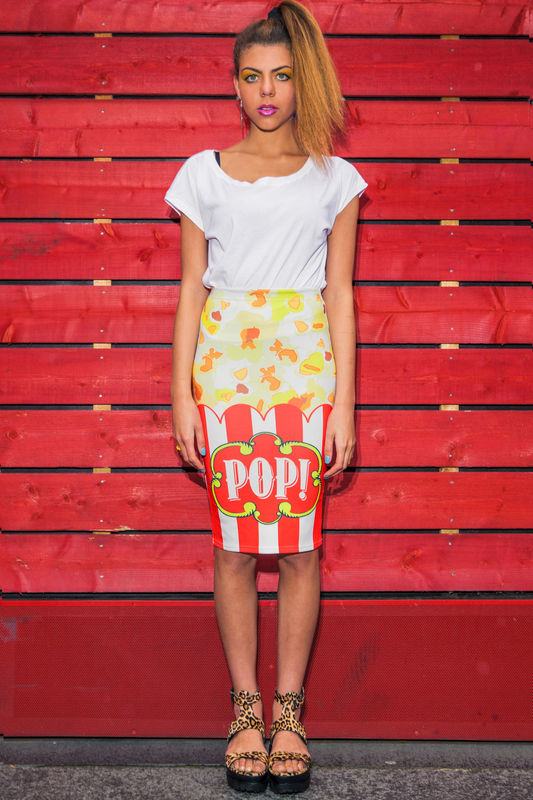Pop! Midi Skirt - product images  of