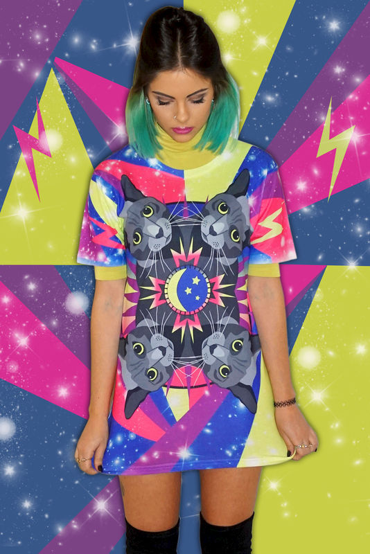 Cosmic Cat T-Shirt - product images  of