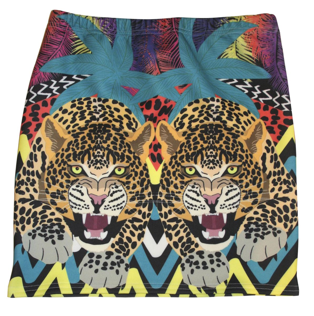 On the Prowl Leopard Mini Skirt - product images  of