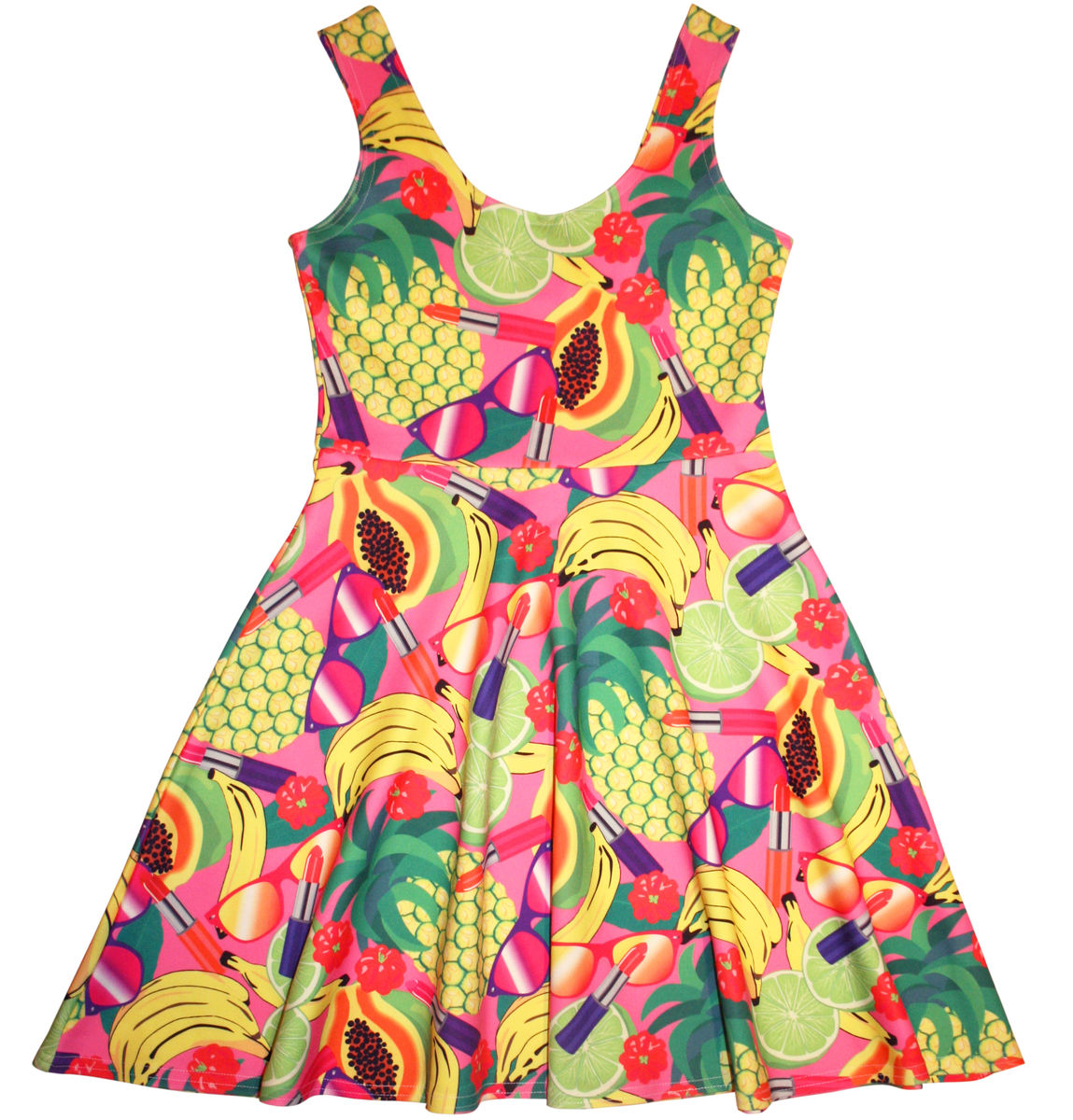Fruity Patootie Skater Dress - product images  of
