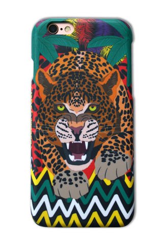 Prowling,Leopard,iPhone,6,Case,iPhone case, iPhone cover, iPhone 6, phone, phone case, leopard, tropical, tiger, gift, fun, design, dazzle and jolt