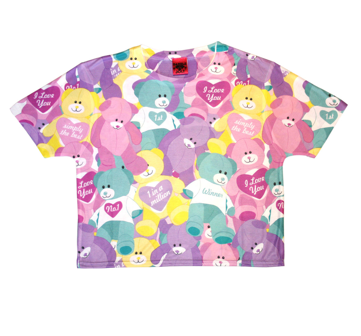 Fair Bears Crop T-Shirt - product image