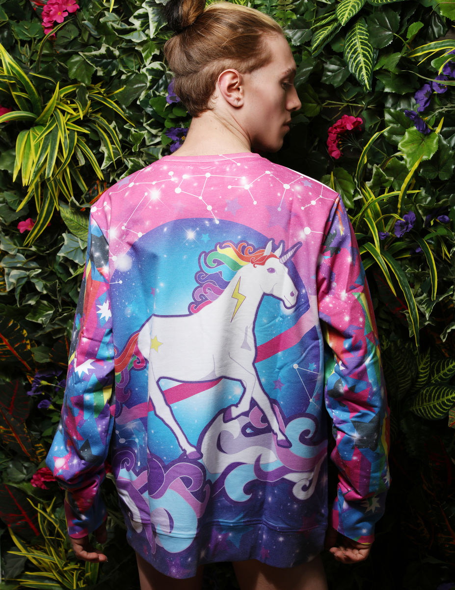 Intergalactic Unicorn Sweater - product images  of