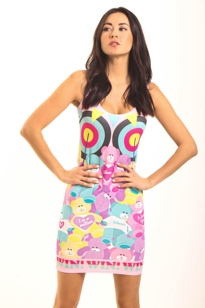 Fair Bears Bodycon Dress - product images  of