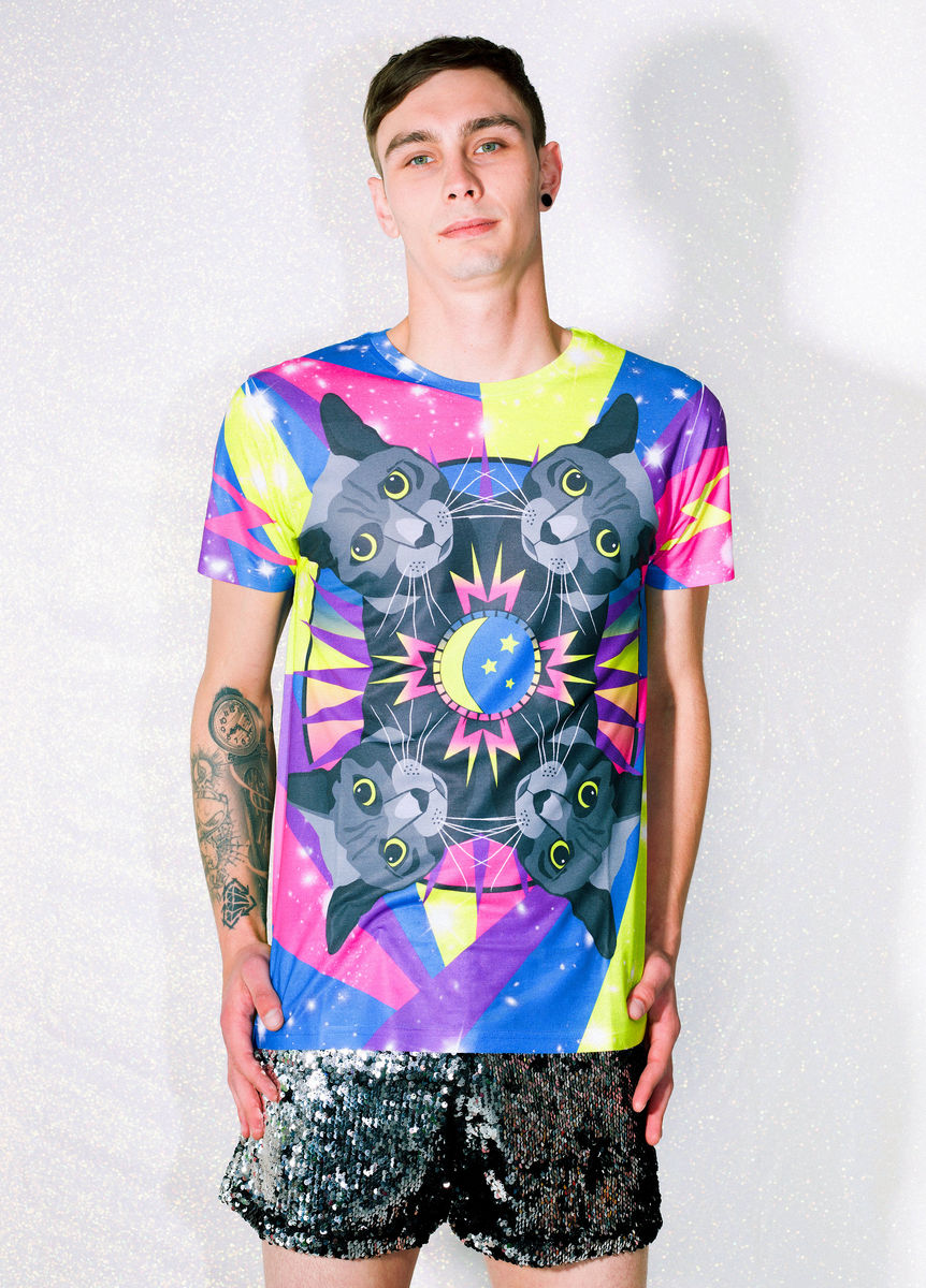 Cosmic Cat T-Shirt - product image
