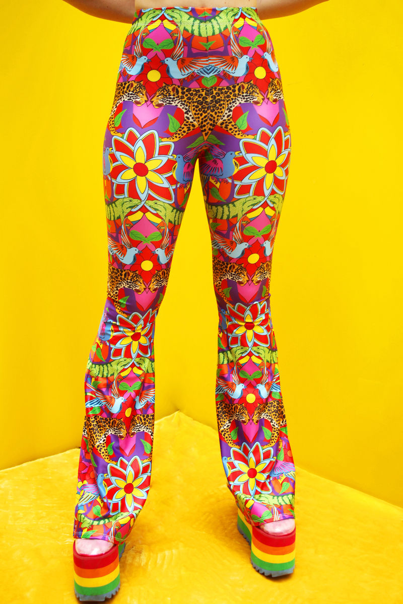 Jaguar Jungle Flares - eco lycra - product images  of