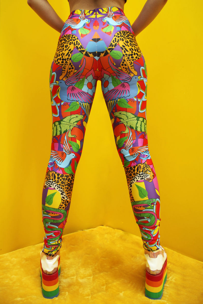 Jaguar Jungle Leggings - product images  of