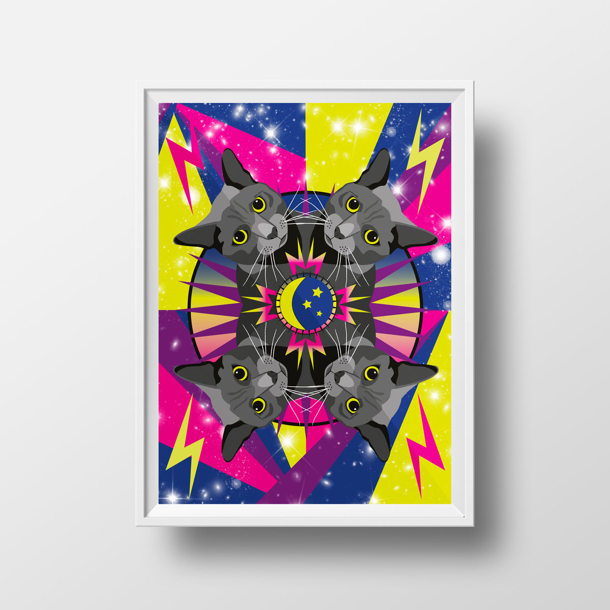 Cosmic Cat Giclée Print - product images  of