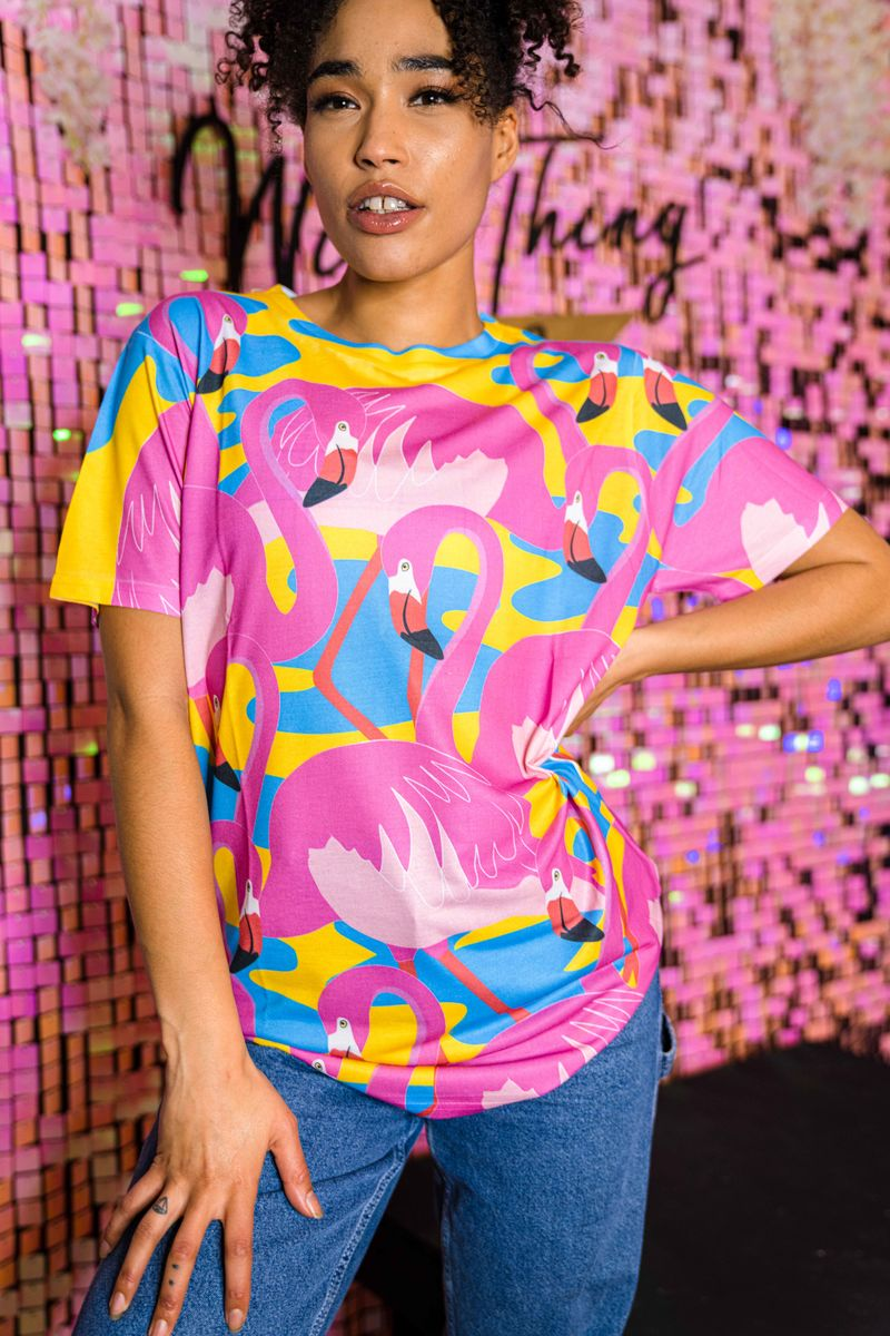 Flamingo Fiesta T-Shirt - product images  of