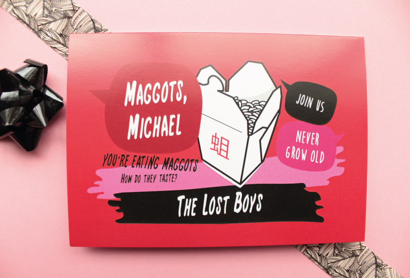 The Lost Boys Birthday Card