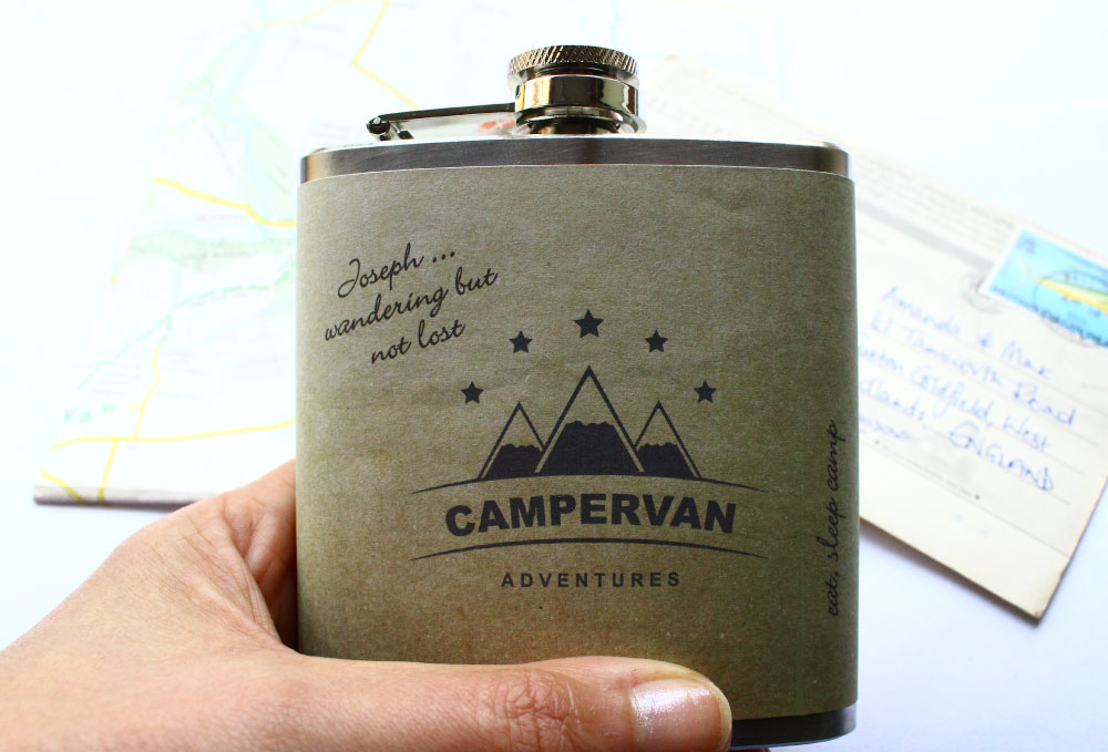 Personalised Campervan Flask