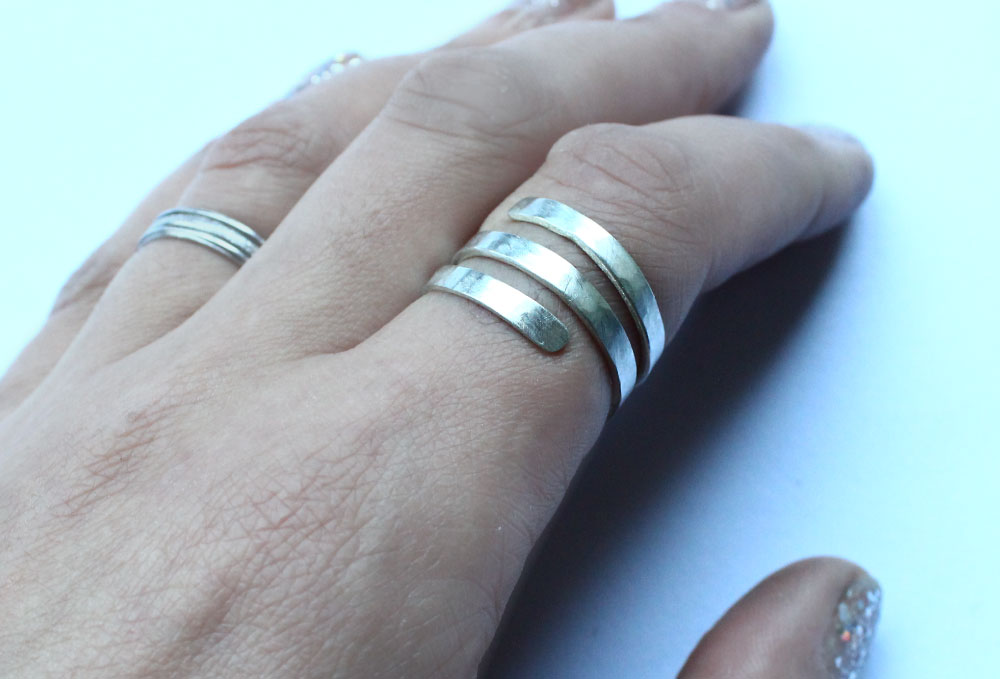 Sterling Silver Wraparound Ring