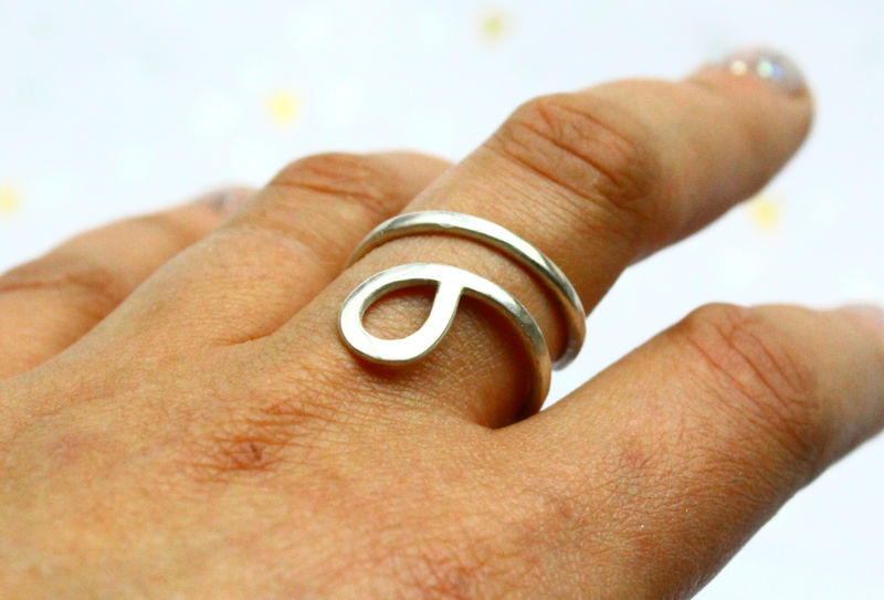 Snake Ring Sterling Silver - product image