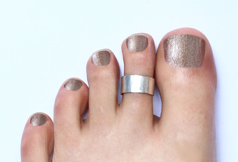 Silver Toe Cuff Ring - product image