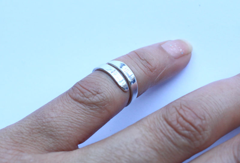Sterling Silver Toe Ring - product image