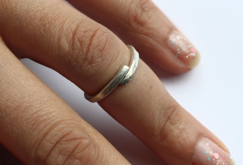 Sterling Silver Midi Ring - product image