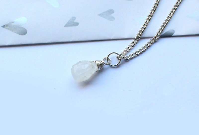 Moonstone Gemstone Necklace - product image