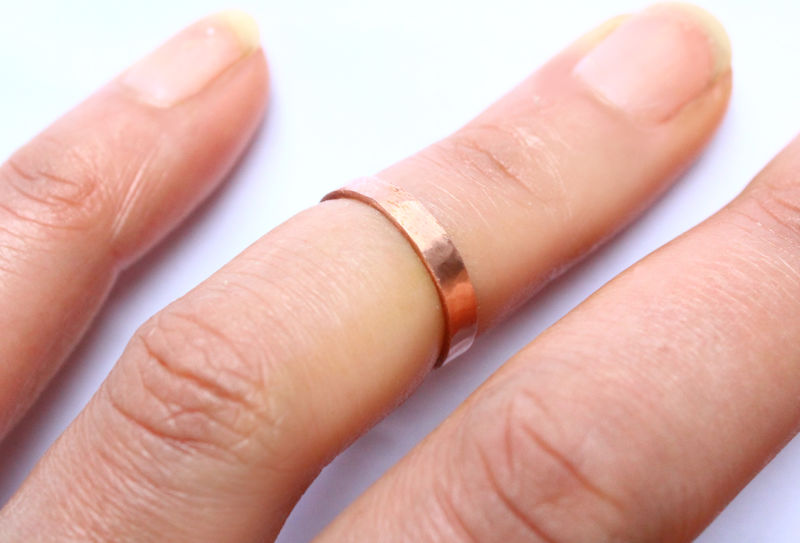 Copper Toe Ring Foot Jewellery - product image