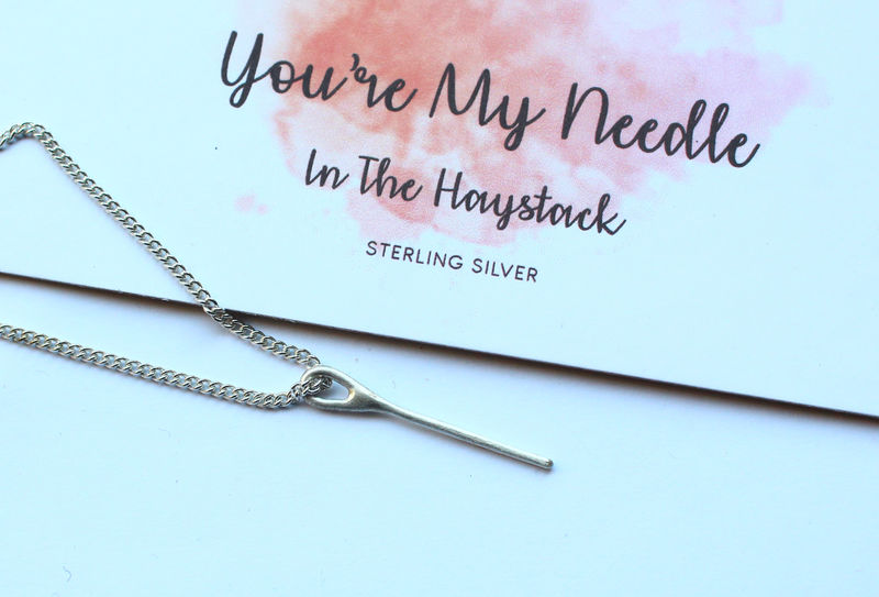 Romantic Gift For Her Needle In A Haystack - product image