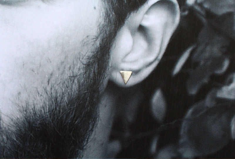 Triangle Earrings For Men or Women - product image