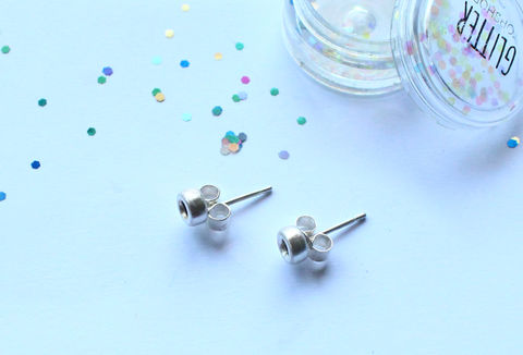 Tiny,Stud,Hoop,Earrings,earrings, stud, circle, hoop, tiny, triangle, minimalist, classic, 925 sterling, jewellery, jewelry, solid silver, gift for her
