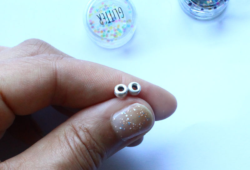 Tiny Stud Hoop Earrings - product image