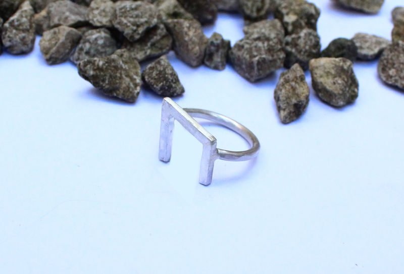 Viking Runes Strength Ring - product image