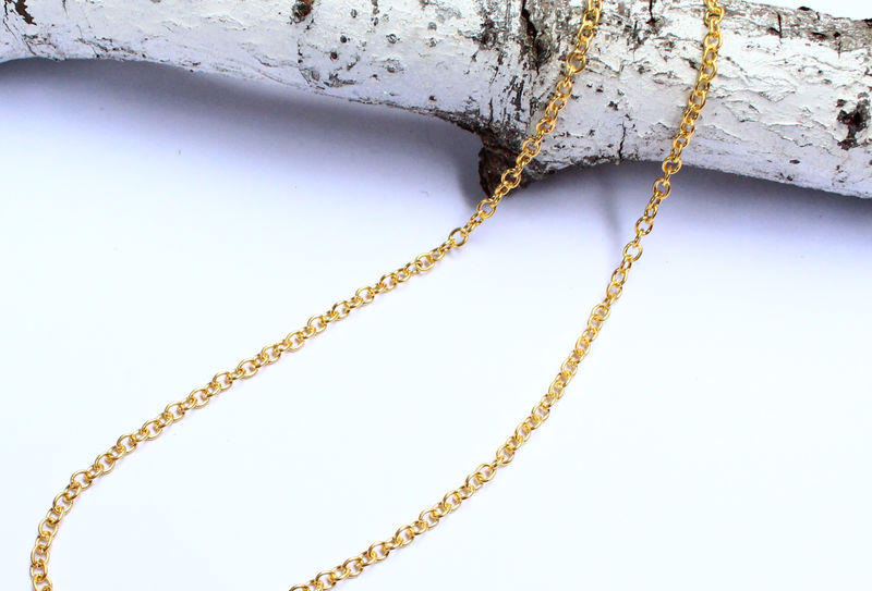 Gold Chain For Men Or Women Delicate Necklace - product image
