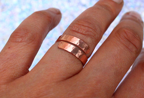 Copper,Arthritis,Ring,Adjustable,for him, for men, thumb ring, pure copper, ring jewelry, ring jewellery, costume jewellery, boho ring, Egyptian ring